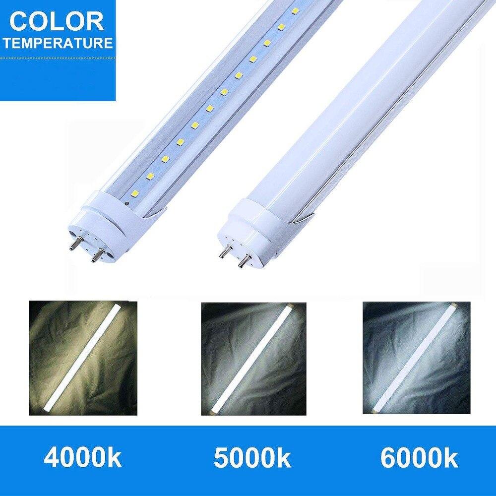 T8 a mené la lumière de tube 1200mm 20 w 22 w 4ft smd2835 tube fluorescent led 110 v 220 v FEDEX livraison gratuite a mené le tube t8 - 5