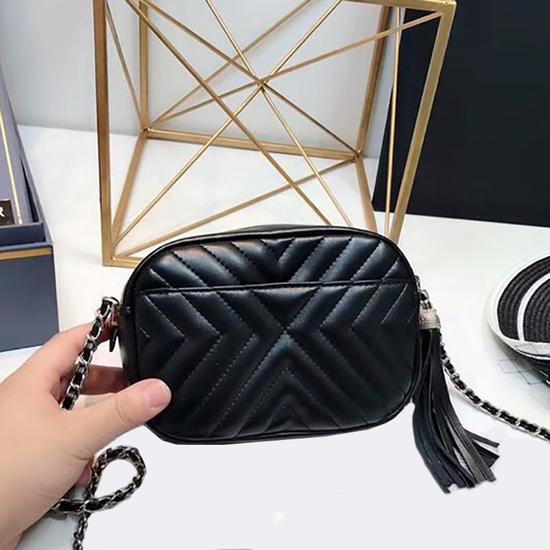 Women Genuine Leather luxury Handbags Shoulder bag high quality chain soft crossbody bags fashion ladies messenger bags luxury handbags women bags designer cover messenger bags ladies chain crossbody bag diamonds high quality genuine leather