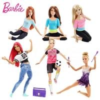Оригинальные Барби Марка American Girl Куклы 6 Стиль Йоги Gymnas суставов Движения Игрушки Для Детей Девушки Подарок На день рождения куклы игрушки