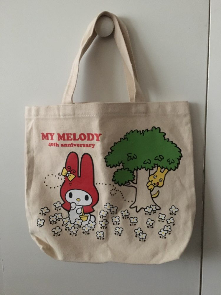 Nieuwe mode My Melody Girls Woman Canvas Handtassen Kinderlunch tas voor kinderen photo review