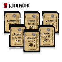 Kingston SDHC SDXC Class 10 UHS I Card SDA10 16GB 32GB 64GB 128GB 256G