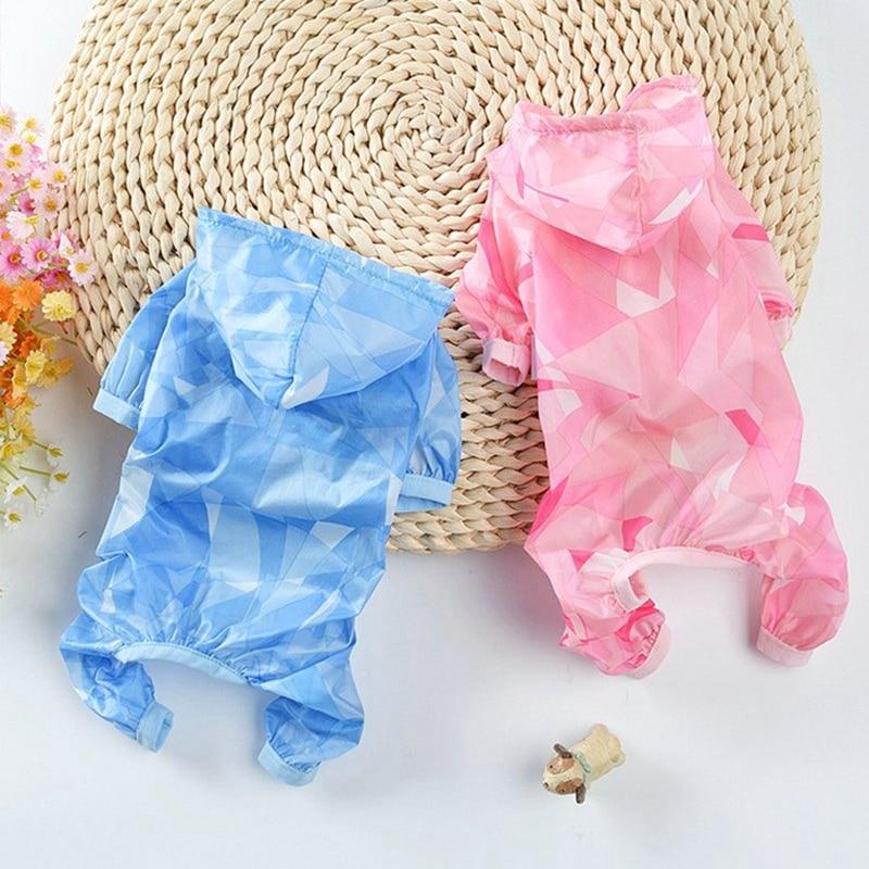 Anti-uv Impermeabile Cane Cappotto Cane Pioggia Marcia Del Sole Dei Vestiti Di Protezione Del Sole Di Protezione Tuta Per Cani Protezione Solare Abbigliamento Di Qualità E
