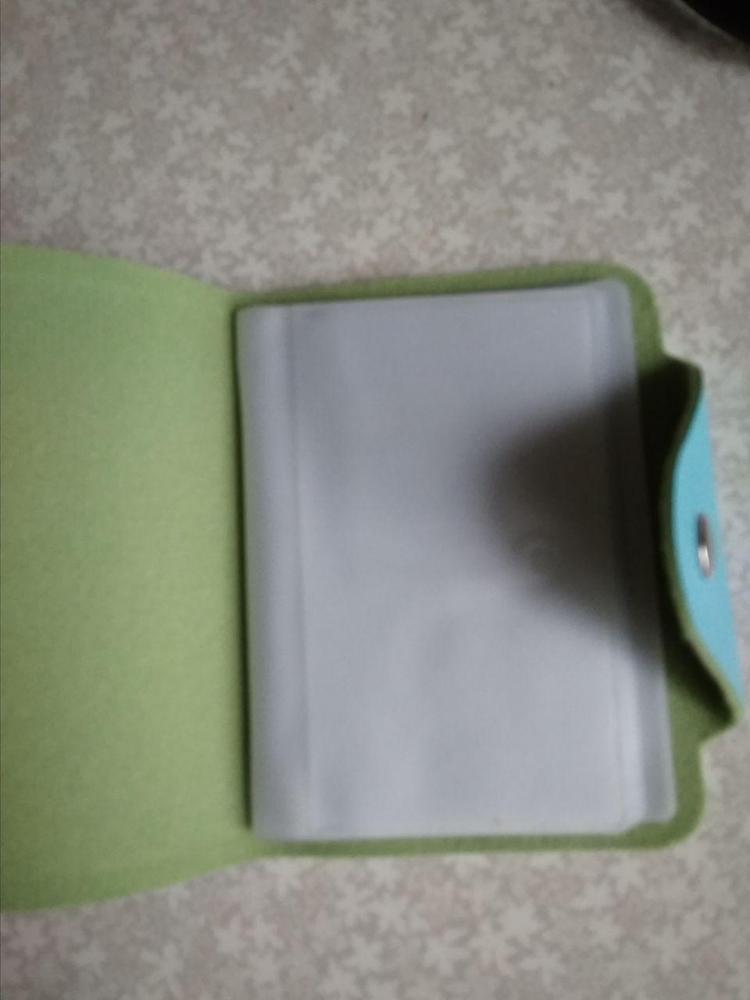 Leuke 20 Bits Kaart ID Houders Case PU Lederen Visitekaarthouder Vrouwen Credit Paspoort Kaart Tas Paspoort Kaart Portemonnee H084 photo review