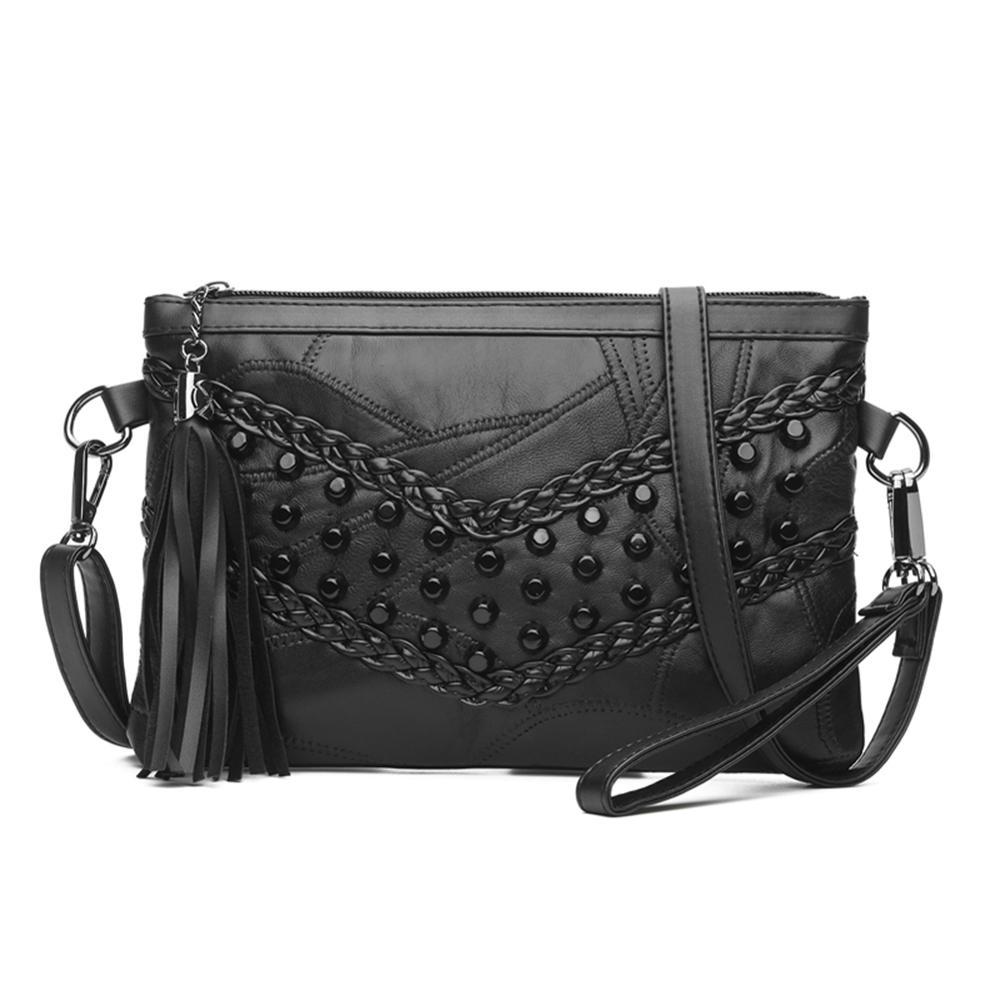 Sheepskin Mini Messenger Bag For Women Ladies Simple Shoulder Crossbody Bag Female Evening Party Bags Bolsas Feminina Sac A Main