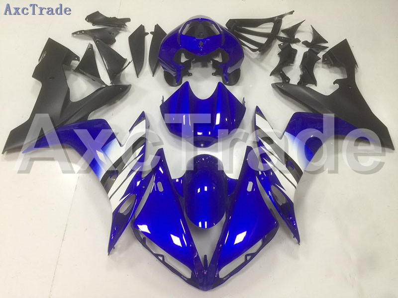 Motorcycle Fairings Kits For Yamaha YZF1000 YZF 1000 R1 YZF-R1 2004 2005 2006 04 05 06 ABS Injection Fairing Bodywork Kit Blue wotefusi black motorcycle injection mold bodywork motorcycle fairing for 2004 2005 2006 yamaha yzf1000 r1 04 05 06 3 [ck813]