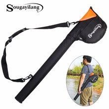 Sougayilang Camouflage 80cm/31.4in Fishing Bag Large Capacity Fly Fishing Rod Tackle Bag Fishing Bag Waterproof Fishing Rod Bag