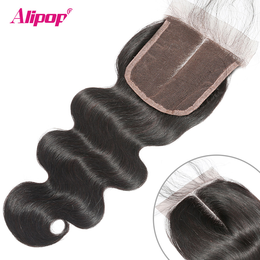 5x5-Lace-Closure-Body-Wave-Brazilian-Huaman-Hair-Closure-Pre-Plucked-with-Baby-Hair-8-20-ALIPOP-Remy-Hair-Free23-Part-Closure-(5)