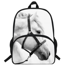 hot deal buy 16-inch popular animal bags children school bags zebra backpack for kids girls horse print backpacks for boys animal backpack
