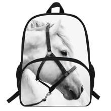 16-Inch Popular Animal Bags Children School Bags Zebra Backpack For Kids Girls Horse Print Backpacks For Boys Animal Backpack цена 2017