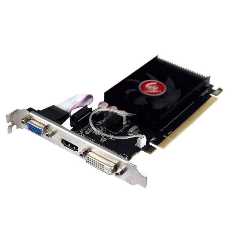 Видеокарта Veineda HD6450 2 ГБ DDR3 HDMI графическая видеокарта высококлассная игровая видеокарта HD6450-2