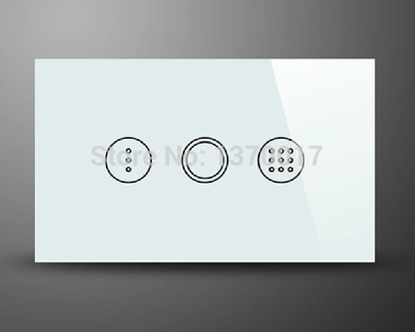 Waterproof Black Crystal Glass Touch Timer Wall Switch, AC110-240V Light Time Delay Switch -- AU US Standard, Free Shipping smart home us au wall touch switch white crystal glass panel 1 gang 1 way power light wall touch switch used for led waterproof