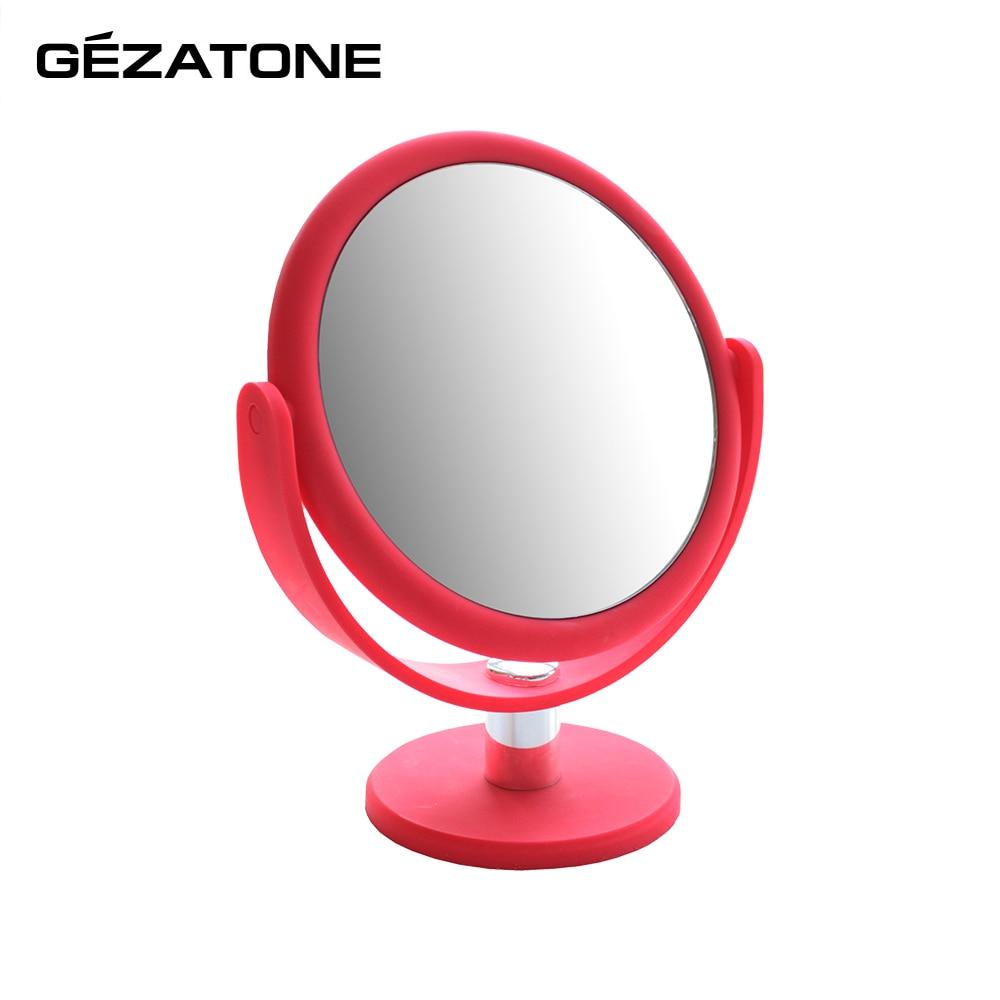 Makeup Mirrors Gezatone 1301207 lighted makeup mirror acrylic frame led makeup mirror