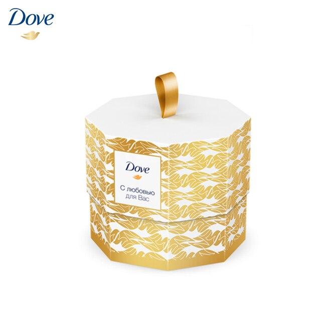 Подарочный набор Dove с любовью для Вас 75мл+100г