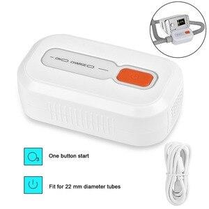 Image 4 - MOYEAH מיני CPAP מנקה מחטא הנשמה עם 1 חבילה ניקוי לנגב דום נשימה בשינה Cpap אוויר צינורות נקי Sanitizer מעקר