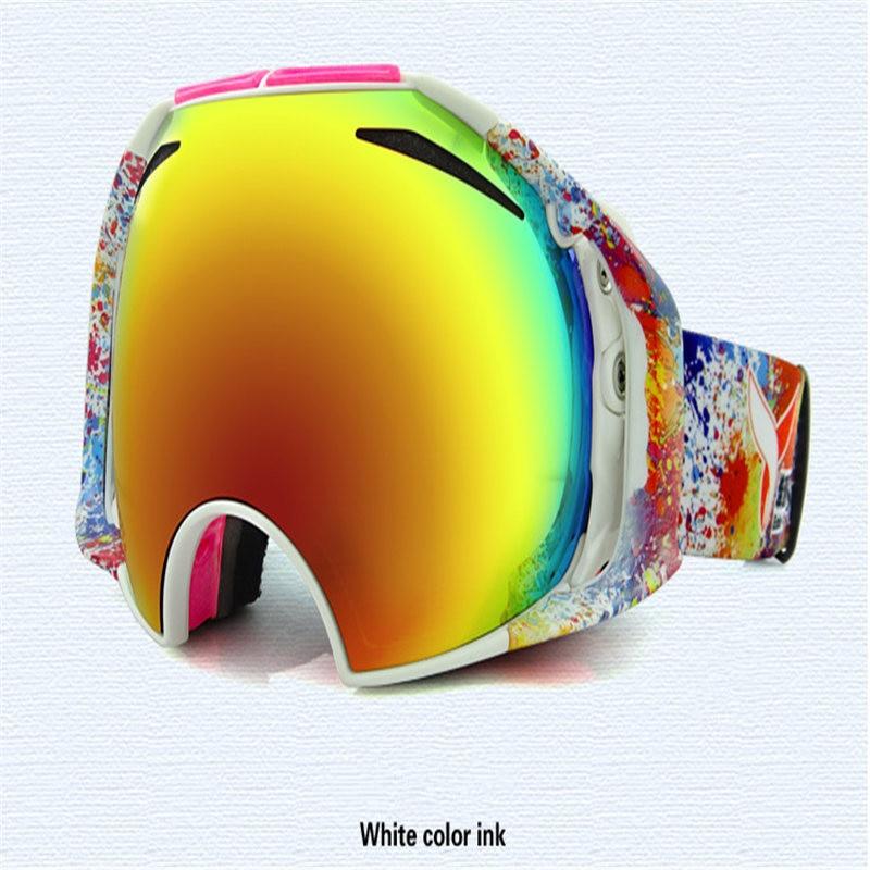 Prix pour Anti Brouillard Ski Lunettes Double Couches UV400 Ski Masque Lunettes de Ski Hommes Femmes Neige Snowboard Lunettes