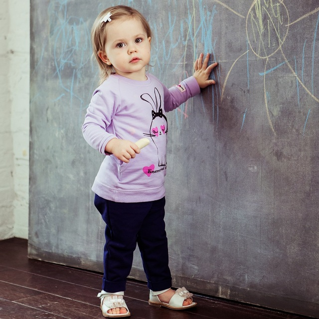Платье-туника Lucky Child для девочек 54-64f сарафан детская одежда