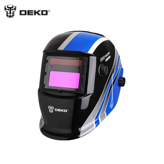 Сварочная маска DEKO WM260 с автозатемнением стекла