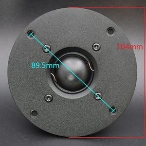 """Image 4 - HIFIDIY LIVE hifi 4 pouces 4.5 """"Tweeter haut parleur unité soie membrane 8OHM 30 W aigus haut parleur T1 104N/110/116 néodyme magnétique"""