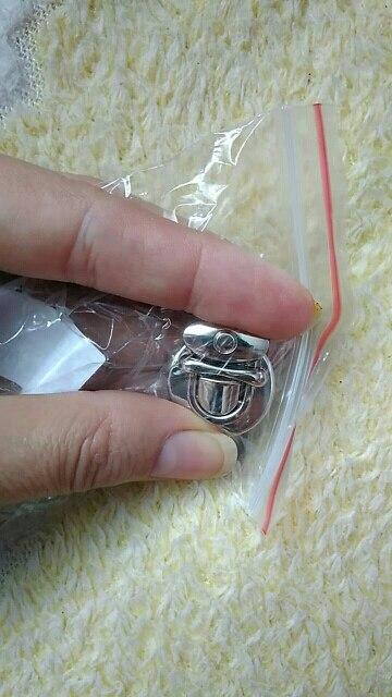 THINKTHENDO Metal Round Shape Clasp Turn Lock Twist Lock for DIY Handbag Bag Purse Hardware photo review