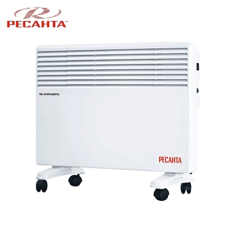 Convector RESANTA OK-2000E Heating device Electroconvector Forced convection heater Wall-hung convector Mechanical converter convector resanta ok 1000