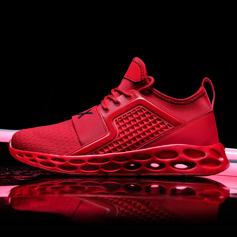Shoes Bomlight Hollow Sole Men Shoes Red Man Sneakers Men Vulcanize Shoes Man Trainers Letter Max Tenis Masculino Adulto Plus Size 46