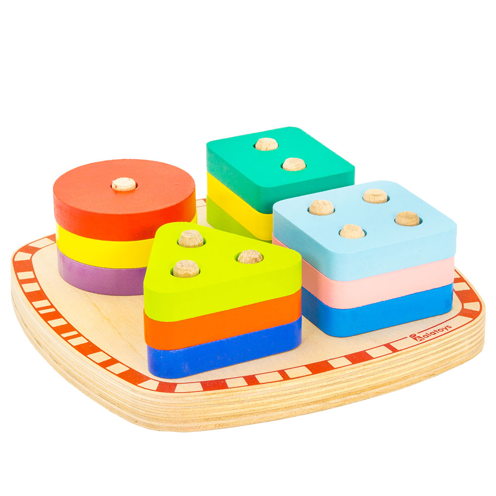 Magic Cubes Alatoys COR25 play building block set pyramid cube toys for boys girls abc toywood dayan 5 zhanchi 3x3x3 brain teaser magic iq cube