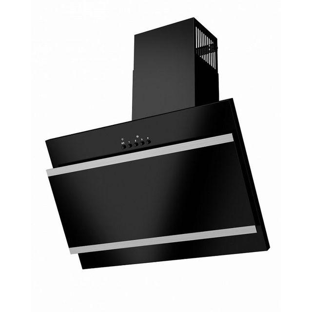 Кухонная вытяжка MAUNFELD Tower G Satin 50 (stripes) черный