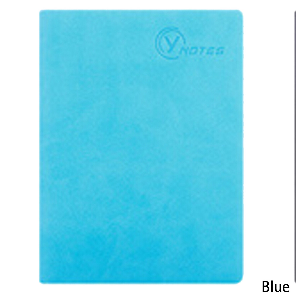 Candy Color Business Notebook Office Planner Notebook  128 Sheets  Pu Leather Travel Journal Personal Diary Notebook Papelaria