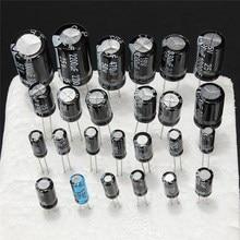 1 UF 2200 uF 25 V/50 V 25Valuesx5Pcs รวม 125 Pcs Assortment KIT ชุดสารพัน