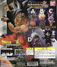 Dragon ball super UDM Burst 33 Gotenks Goku Trunks Broly cheese Gashapon PVC figure model Figural Doll key chain