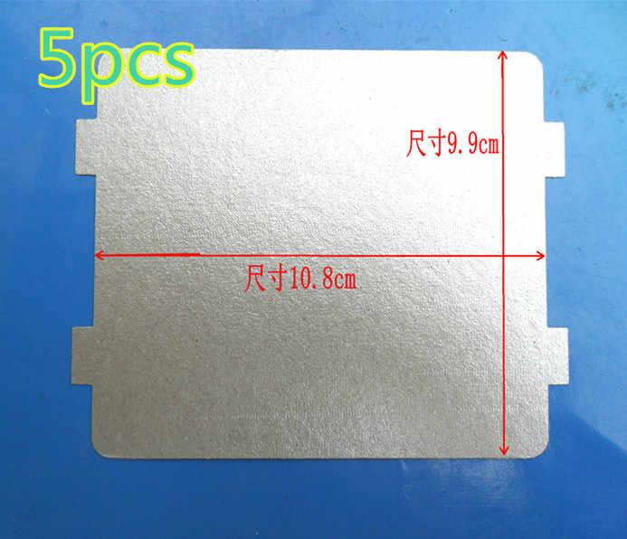 5 قطع 9.9*10.8 سنتيمتر الغيار ل المايكروويف الميكا الميكا ورقة لوحات المايكرويف الميكروويف