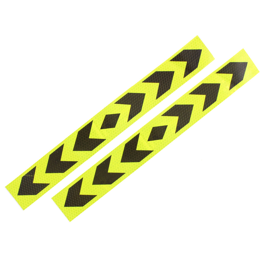 X autohaux 2 предмета стрелки печатные самоклеющиеся Тип автомобиль светоотражающие Предупреждение знак Стикеры Клейкие ленты Желтый Черный