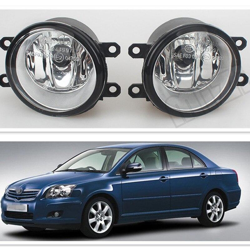 For Toyota AVENSIS 2003-2009 Car Styling Fog Lights Original 1 Set (Left + right) 81210-06052 Fog Lamps 2 pcs set car styling front bumper light fog lamps for toyota venza 2009 10 11 12 13 14 81210 06052 left right