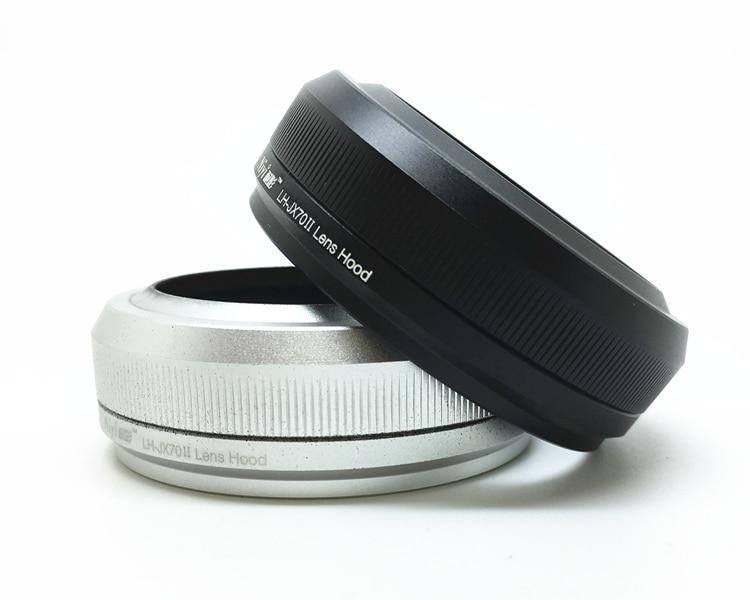 1pcs for fujifilm X70 X100 X100S X100F X100T lens hood black/silver1pcs for fujifilm X70 X100 X100S X100F X100T lens hood black/silver