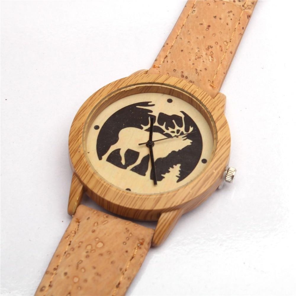 Cork Watch. Eco Watch. Cork watch for women and men.natural cork handmade Original cork watch WA-103