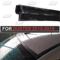 Compactador de parabrisas para Renault Duster 2010-2019 deflector de goma para parabrisas decoración de coche accesorios de protección de cubierta