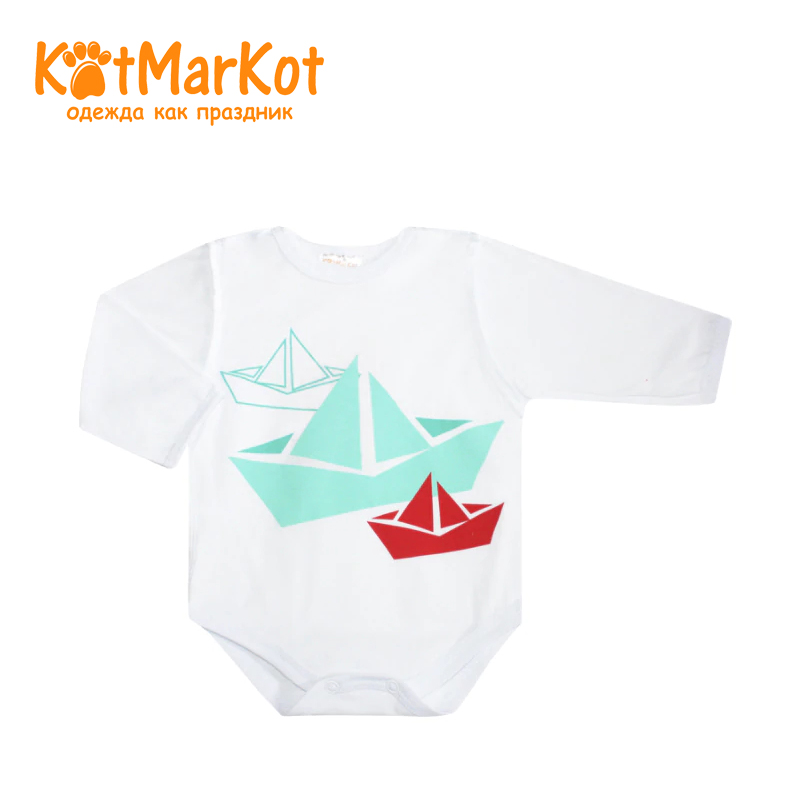 Bodysuit Kotmarkot 9557a children clothing cotton for baby boys kid clothes t shirt kotmarkot 7759 children clothing cotton for baby boys kid clothes