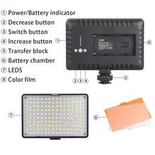 Travor TL-160 Dimmable Ultra High Power Panel Digital LED Camera/Camcorder Video Light Lamp For Canon Nikon Pentax Olympas