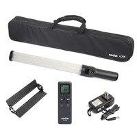 Godox LC500 3300 K-5600 K mango ajustable Barra de luz LED batería de litio incorporada con Control remoto y CA cargador