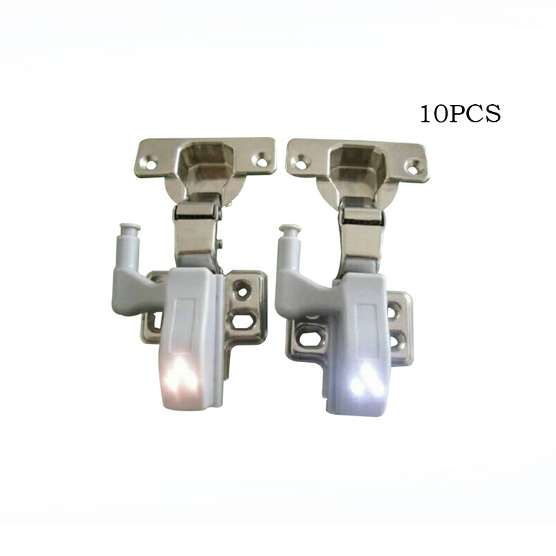 10PCS LED Intelligent Touch-sensitive Under Cabinet Light LED Emergency Night Light Kitc ...