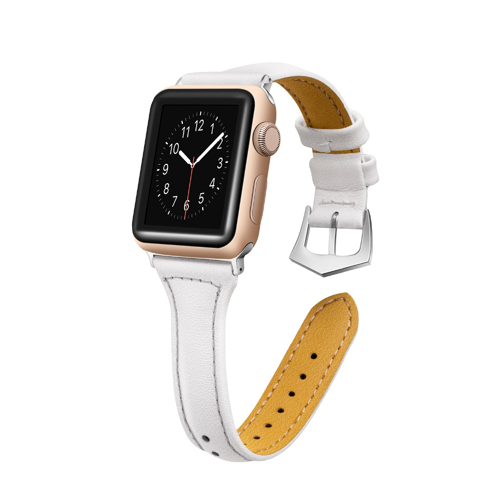 joyozy 2018 New Design Watch Accessories Watchband For Apple Watch Bands 42mm & Apple Watch Strap 38mm iWatch Bracelet 38mm 42mm apple watchband special design handmade leather watch strap 4 color available for iwatch apple watch free shiping