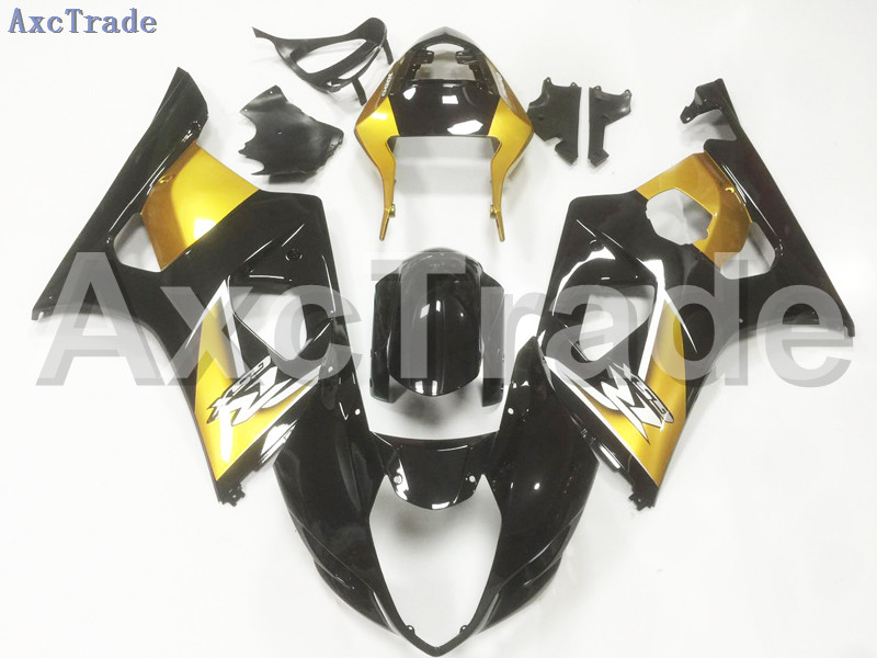 Motorcycle Fairings For Suzuki GSXR GSX-R 1000 GSXR1000 K3 2003 2004 03 04 ABS Plastic Injection Fairing Bodywork Kit Black A107 hot sales sv650 03 04 05 06 07 08 09 10 11 12 13 fairings for suzuki sv650 2003 2013 sv650s black abs motorcycle fairing set