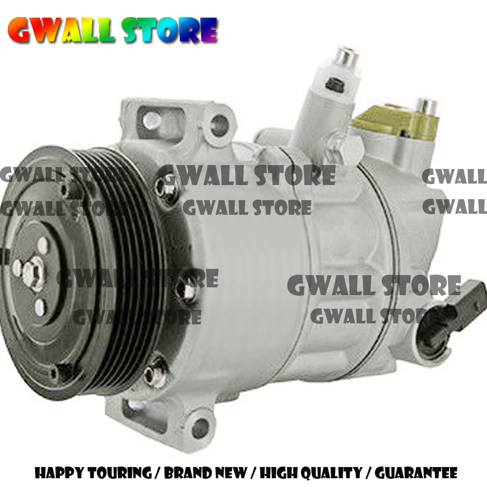 PXE16 AC Compressor For Volkswagen Caddy Golf Polo For Skoda 1K0820859Q 1K0820803G 1K0820808D 1K0820808B 1KD820803H 1K0820803Q in Air conditioning Installation from Automobiles Motorcycles