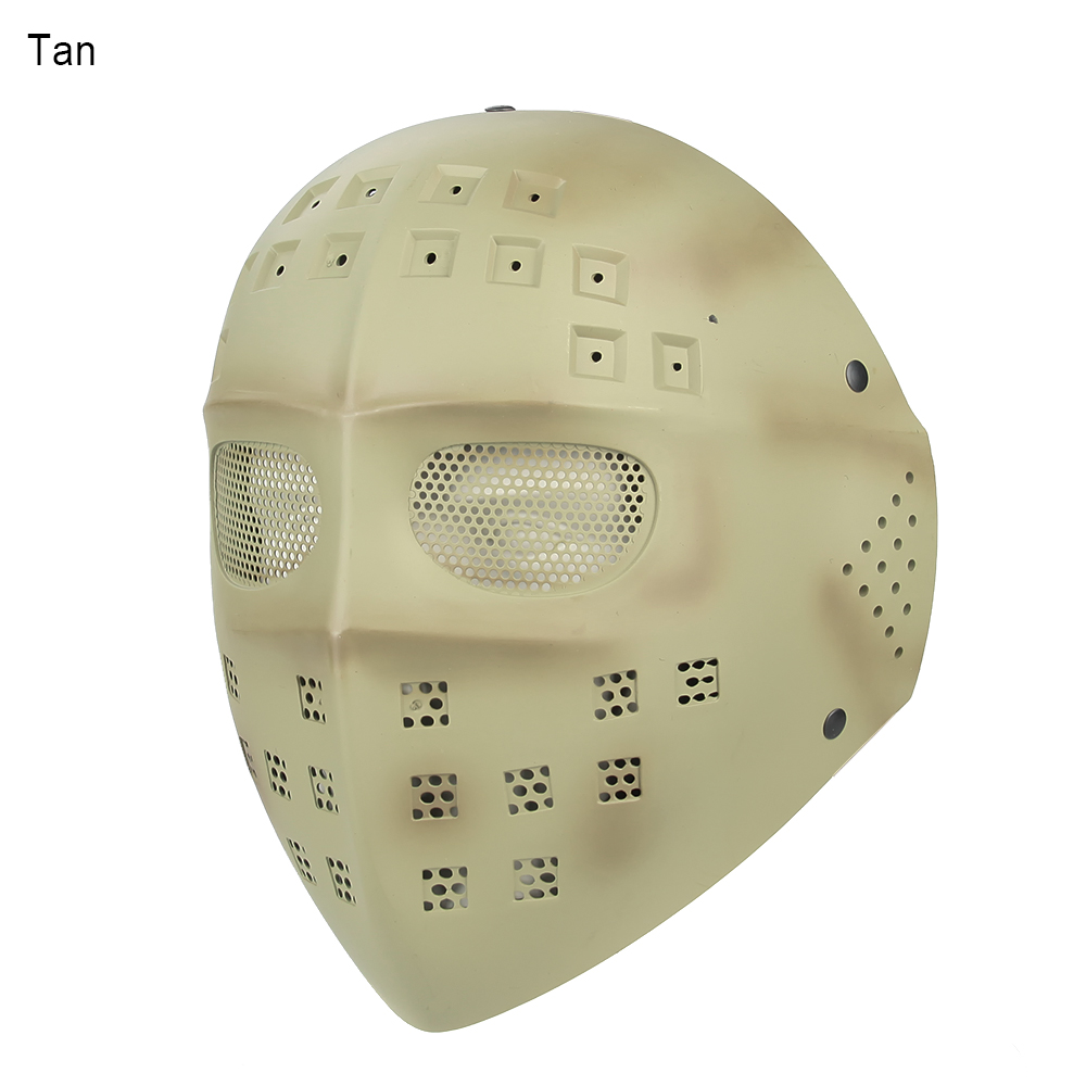 On Promotion Full Face  Masks  Facial Skeleton Tactical Paintball Mask For Wargame  CS GZ90014