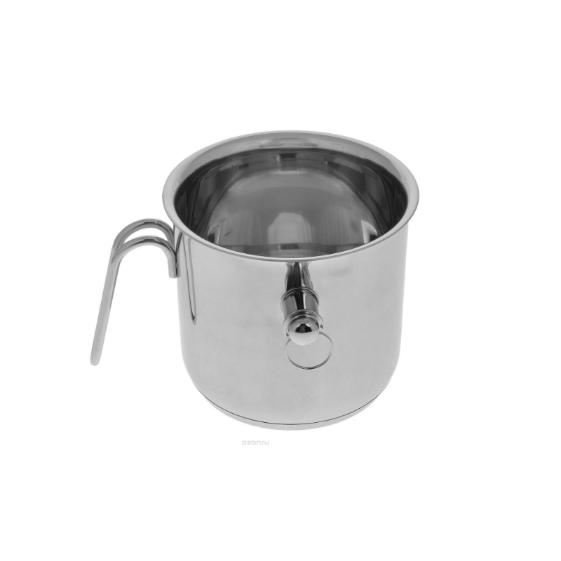 PAN TIMA Milkpan Milk20h11,5sm.3,6 L.With Glass Cover Induction Dishes Knife Thermos Mug Dish Discount High Quality G-16k