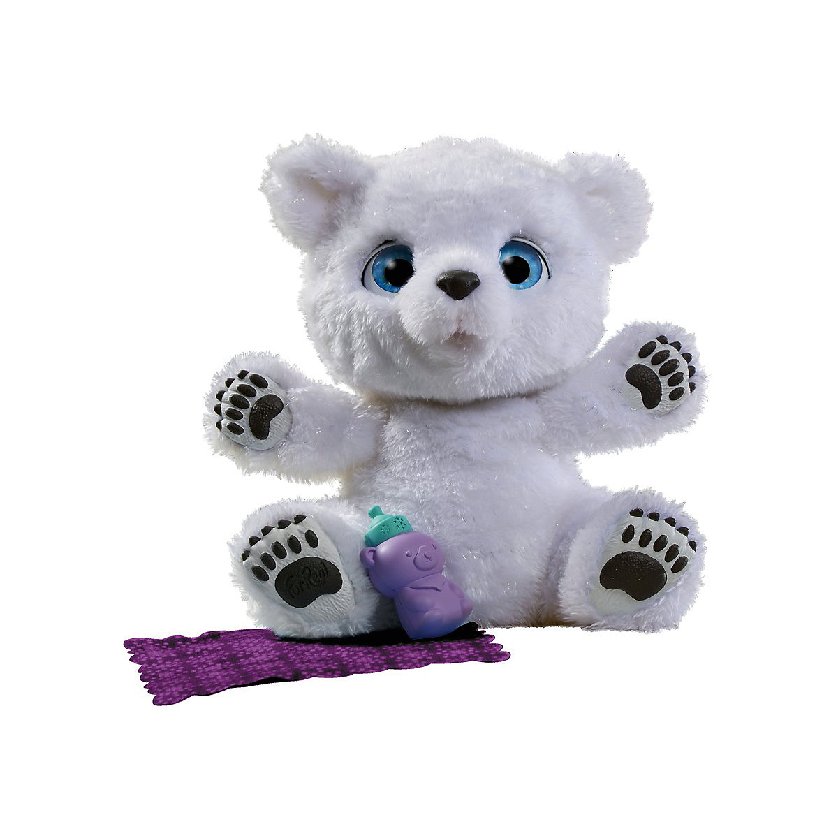 Electronic Plush Toys FURREAL FRIENDS 7137764 Snow Maiden Talking Doll Sound Recording Dog Kids MTpromo