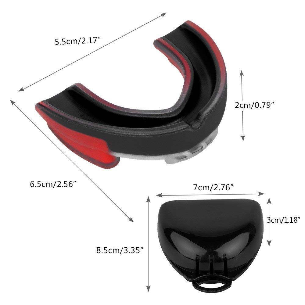 Teeth Protecting Mouth Guard for Boxing/Kick-Boxing/MMA/Fighting for complete Mouth protection 3