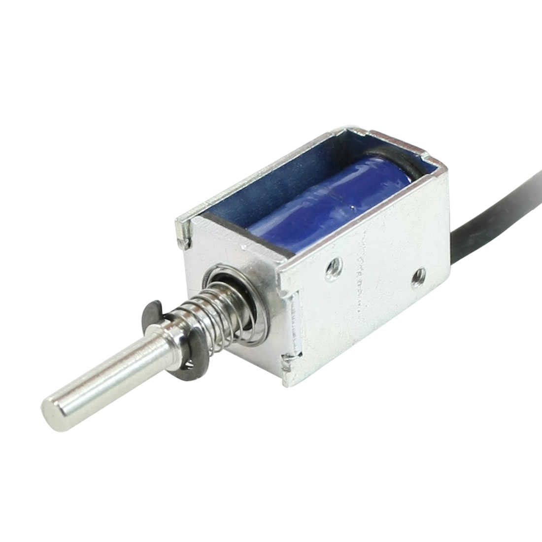 цена на UXCELL Pull Type Open Frame Actuator Electric Solenoid 12V 2Mm 100G 1N
