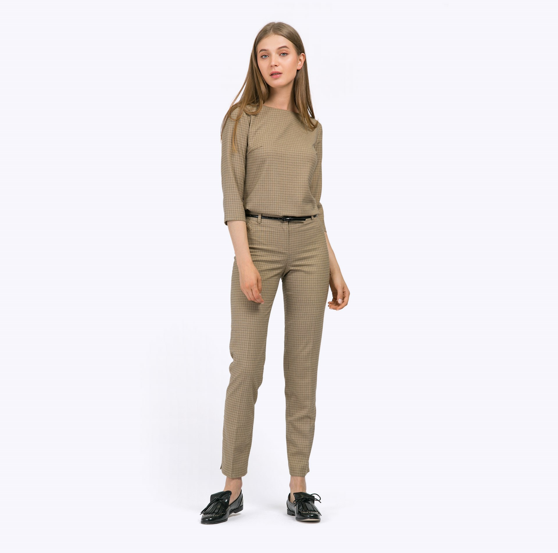 Item number D004/Kesha Pants item number b2275 galsana blouse straight cut