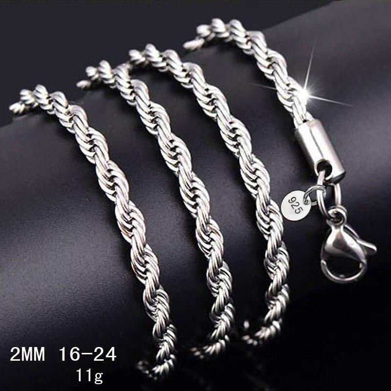 Qualidade superior de prata metal corda pipoca corrente colar acessórios coreano estilo verão diy casamento artesanal jóias por atacado quente